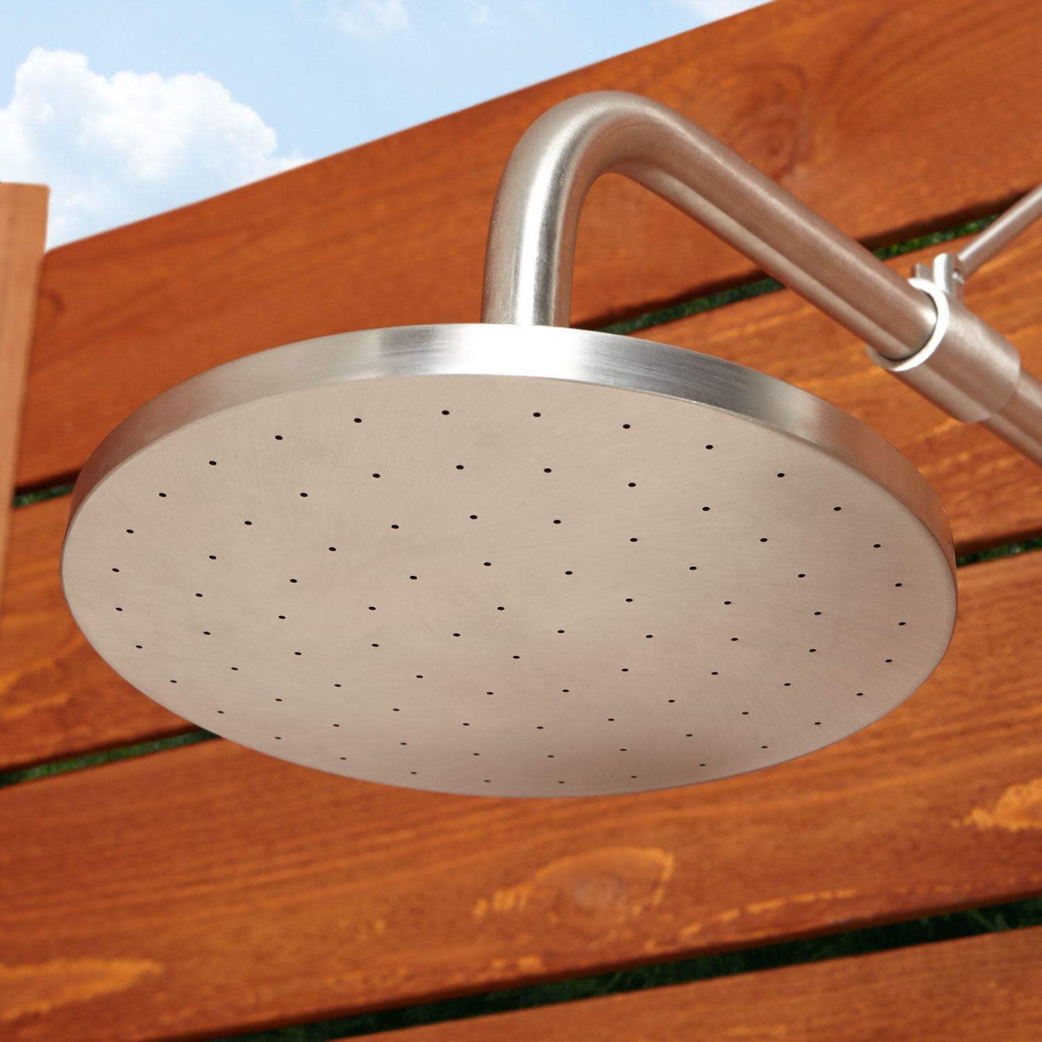 Signature Hardware 401595 Stainless Steel Outdoor Shower Trim with Single Function Shower Head and Pull Chain by Signature Hardware (Image #3)