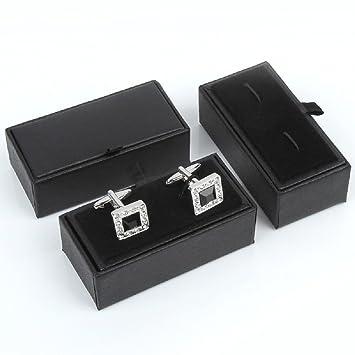 VIOY Mancuernas Caja Caja de Clavos Caja Vacía,Negro,Un Tamaño ...
