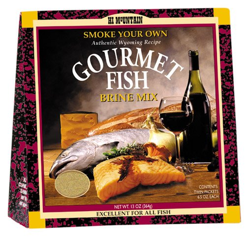 Hi Mountain Jerky Gourmet Fish Brine, 13-Ounce Boxes (Pack of 6)