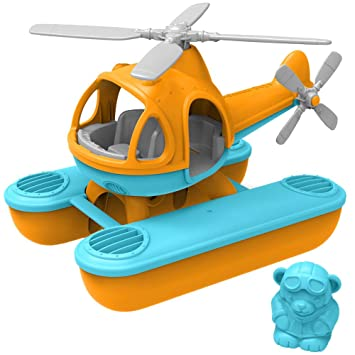 PVC No BPA Green Toys Helicopter phthalates or external coatings
