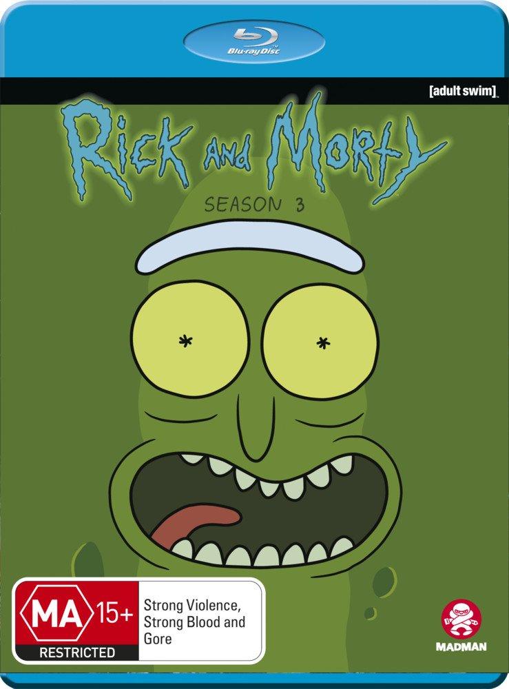 Blu-ray : Rick & Morty: Season 3 (Australia - Import)