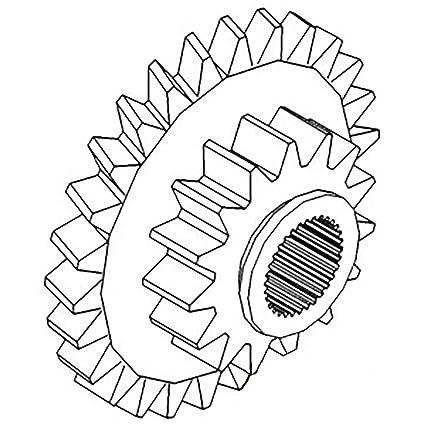 Amazon Com A62178 New Case Ih Tractor Sliding Range Cluster Gear