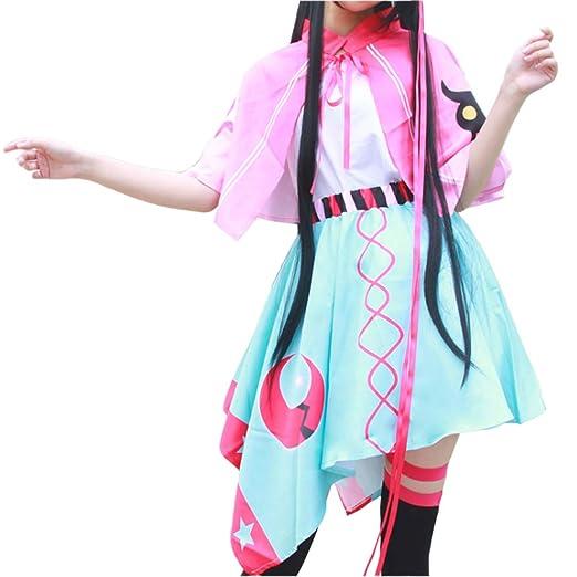 YKJ Traje De Cosplay De Anime Sra Mascarada Uniforme Mantón Rosa y ...