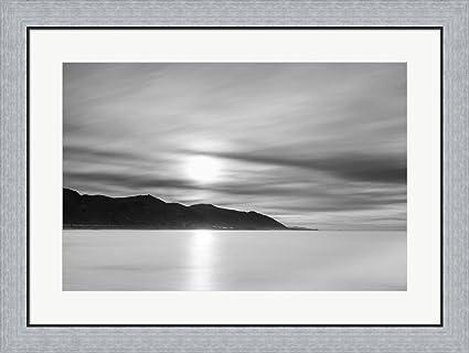Amazon.com: Smooth Sunrise by Chris Moyer Framed Art Print Wall ...
