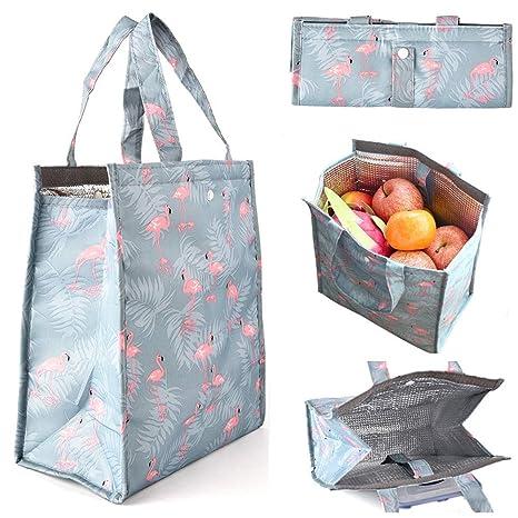 Amazon.com: GINRRY - Bolsa térmica para el almuerzo: Kitchen ...