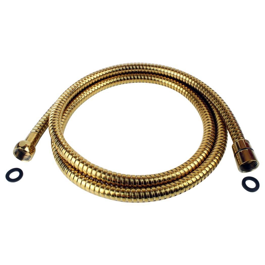 C/âble flexible de douche flexible de douche flexible de douche dor/é jL1117OR style r/étro 170 cm