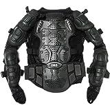 TMS Motorcycle Full Body Armor Protector Pro Street Motocross ATV Jacket Shirt (Medium)