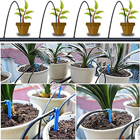 Cacys-Store - DIY Drip Irrigation System Kit Self Watering Device Plant Self Watering Garden Hose Micro Drip Watering Device Kit - - Amazon.com