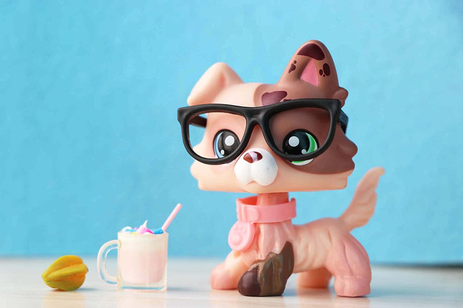SIMSU More Style,pet Shop Homemade Collie Dog and Perfect Cute Shorthair Cat Banana Cocker Spaniel with Accessories 17
