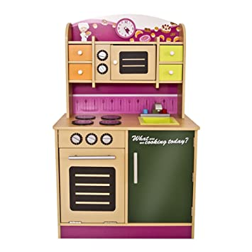 Infantastic Cucina giocattolo cucina gioco per bambini di legno ...