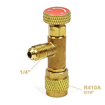 R410A 1/4''- 5/16'' Flow Control Valve for Refrigerant