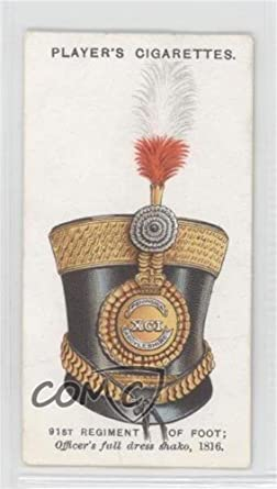91st Regiment Of Foot Officers Full Dress Shako 1816 COMC REVIEWED Good