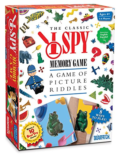 I SPY Memory Game (Board Game Ispy)
