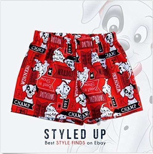 Boys Underwear Infant 101 Dalmatians Boxer Shorts Brief Underwear