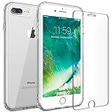 iPhone 7 Plus 8 Plus case, FlexGear 360 Slim Clear