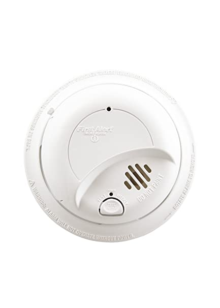 First Alert SA9120BCN 120V AC Hardwired Smoke Alarm