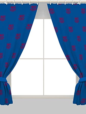 Barcelona 54u0026quot; Drop Curtains Crest Design