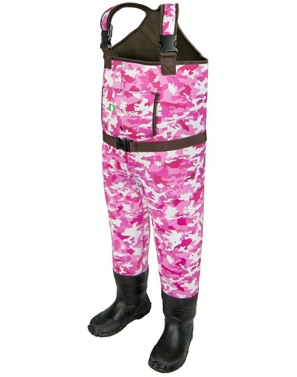 今季ブランド (6 Children's/7, Pink Camo) for - OAKI Toddler OAKI & Children's Neoprene Waterproof Fishing Waders for Kids B0108U6AS2, キホウチョウ:674fc588 --- a0267596.xsph.ru