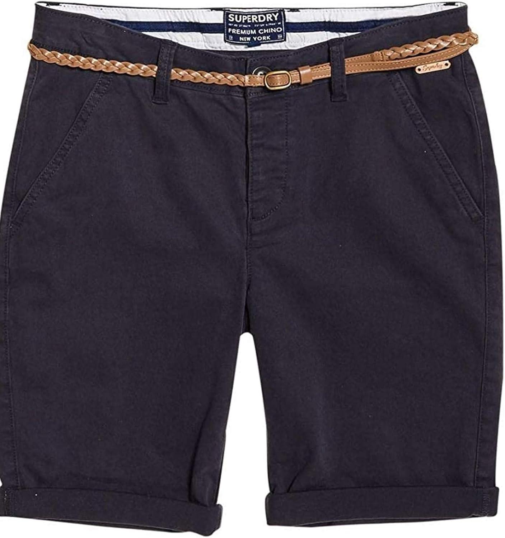 Superdry Chino City Short Pantaloncini Donna