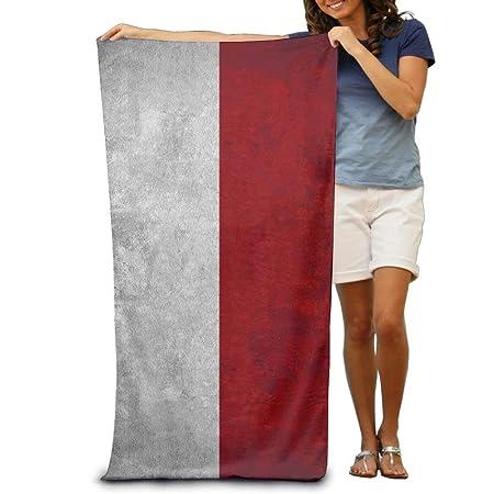 Gebrb Toallas de baño, Vintage Indonesia Flag Beach Towels ...