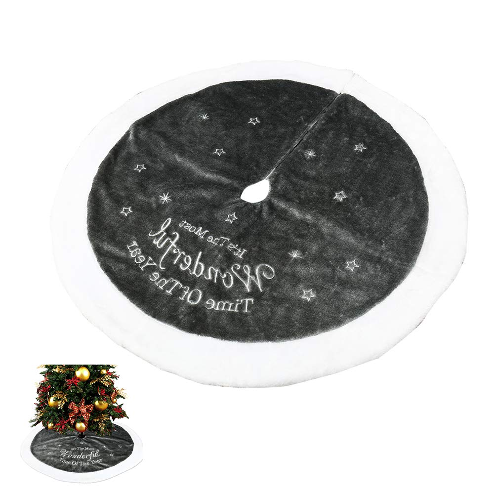 Weihnachtsbaum Decken Fell Schnee Grün Weihnachten Baumdecke Rock ...
