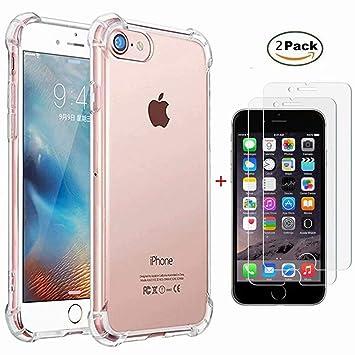 Laixin Carcasa para iPhone 6S, iPhone 6, Transparente ...