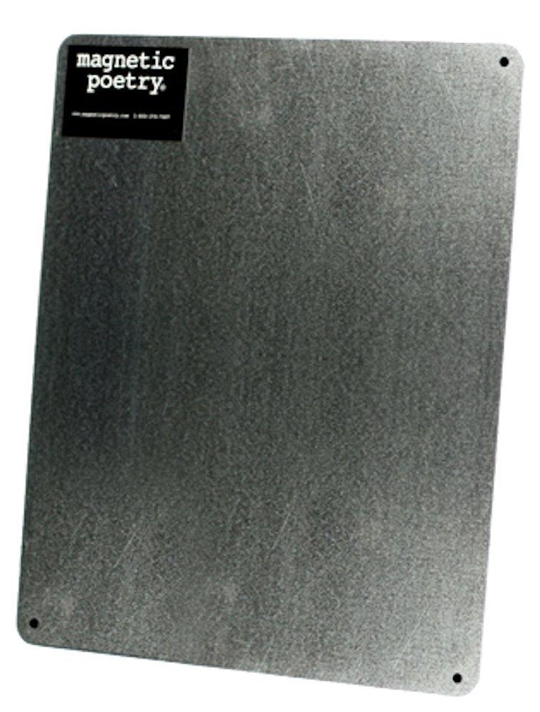 Magnetic Poetry Flat Metal Board. 11'' x 13''. 4017 [Toy]