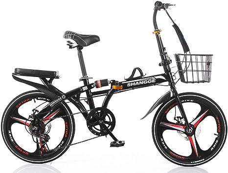 Bicicleta Plegable Adulto Aluminio Bicicleta Unisex Bike Hombres y ...