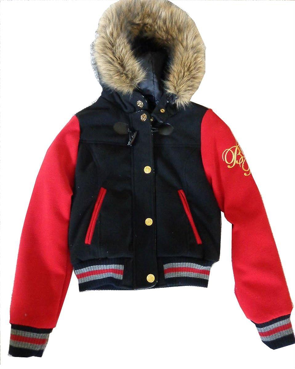 Baby Phat Womens Wool Varisty Bomber Jacket Small 1240BP