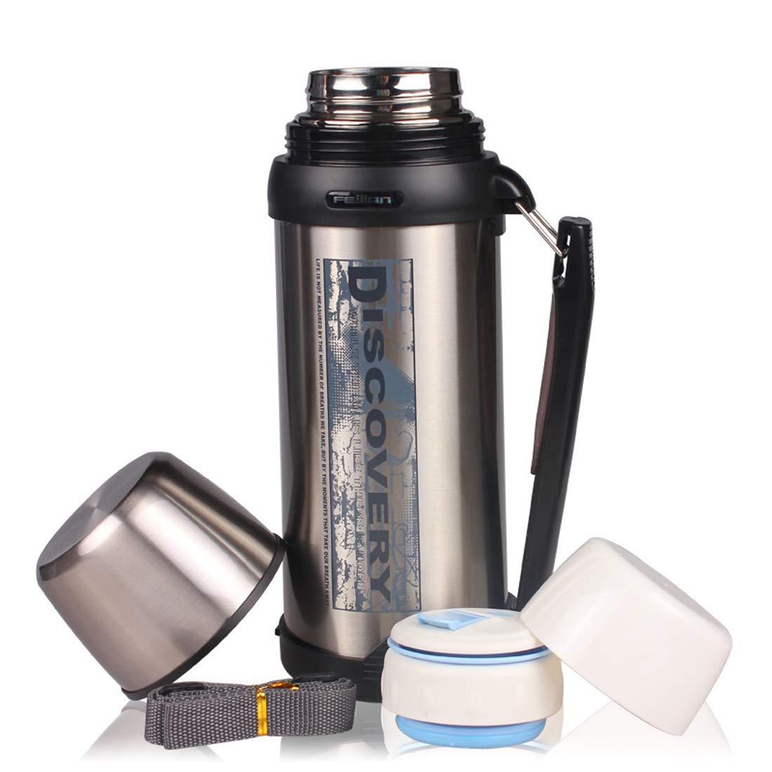 KARTELEI 61 Unzen Große Kapazität Edelstahl Vacuum Insulaterd Wasserflasche Outdoor-Reise-Wasserkocher