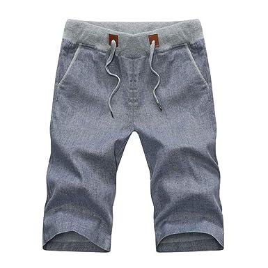 Pantalones Cortos De Hombre Chándal para Playa De Natación Mode De ...