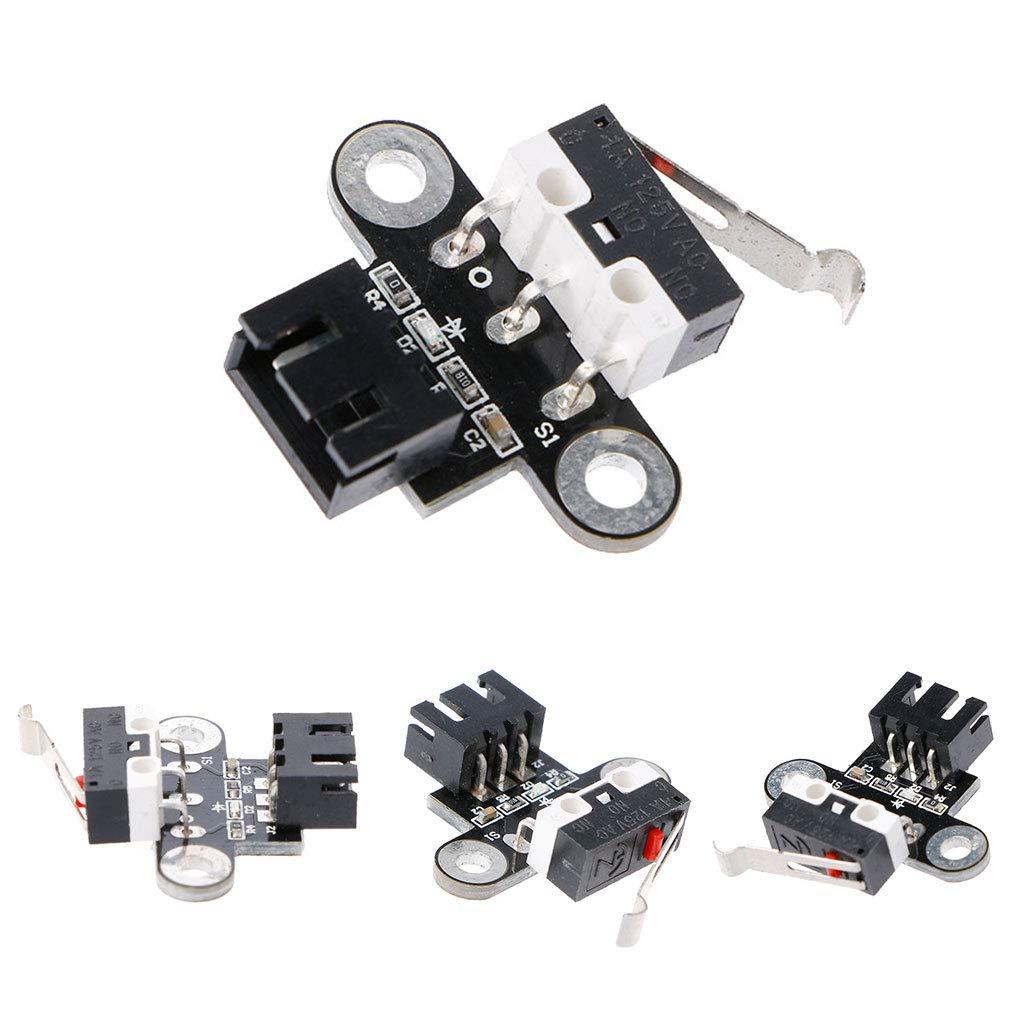 JENOR Mechanisches Endschaltermodul Horizontal F/ür Endstop RAMPS 1.4 3D-Drucker