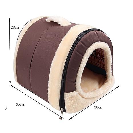 Biniwa - 1 Unidad de Cama para Mascotas, Perro, caseta, Almohadilla de Doble Uso, Suave, cálida, Lavable, cojín Suave para Cachorro: Amazon.es: Productos ...