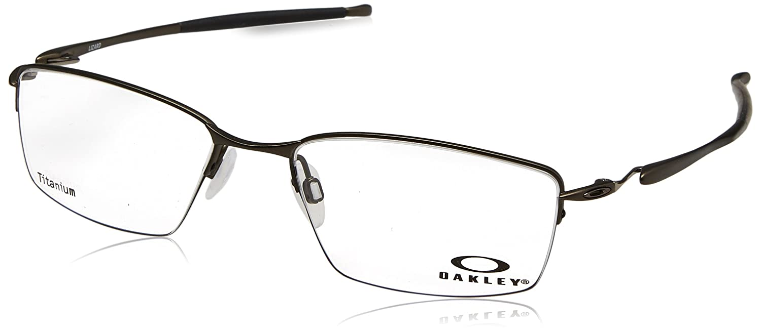84bae3d3c9 Oakley Lizard OX5113 Eyeglasses-02 Pewter -56mm at Amazon Men s Clothing  store