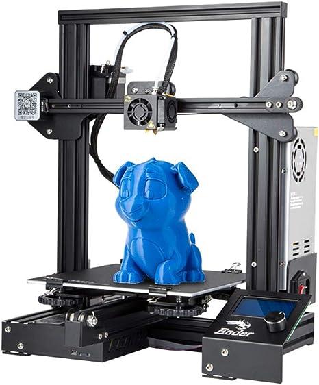 Creality - Impresora 3D Ender-3 con impresión de recuperación, 220 ...