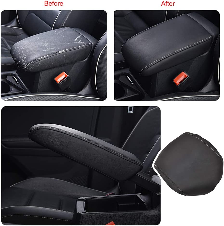 /Étui de Protection Console Centrale Noir Couvercle de bo/îte daccoudoir pour Seat Tarraco