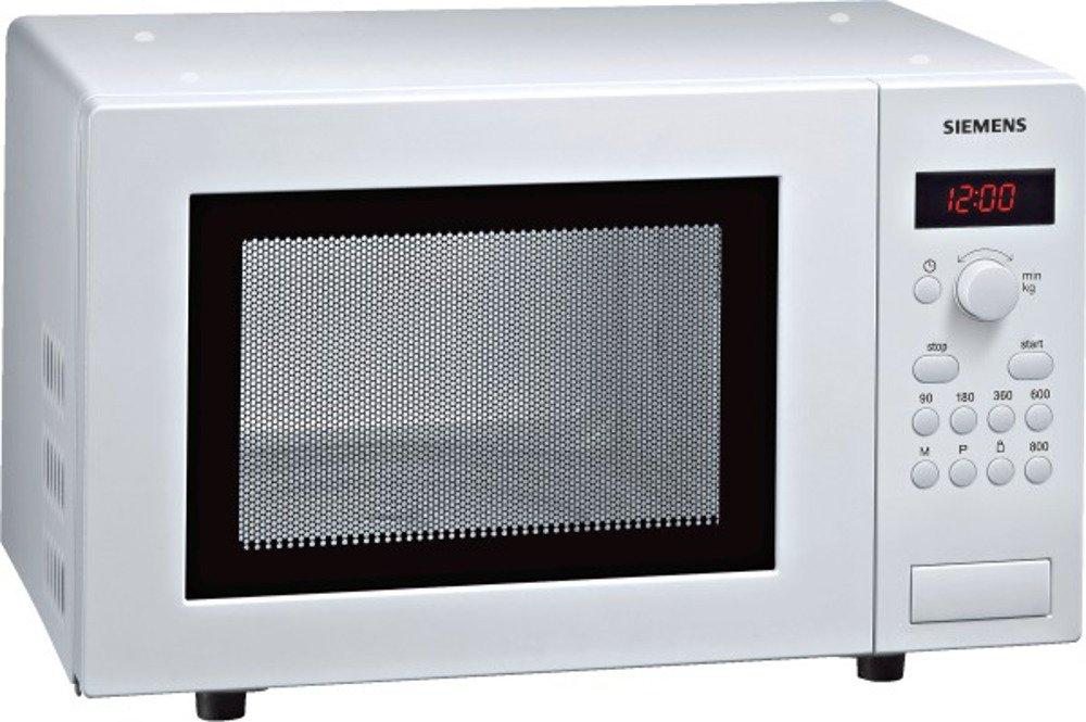 Siemens HF15M241 - Microondas (1270W, 46,2 cm, 32 cm, 29 cm, 230 V, 50 Hz, 462 x 320 x 290 mm) Color blanco