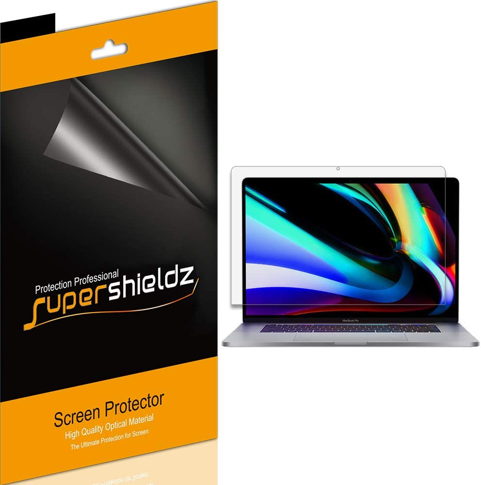 (3 Pack) Supershieldz for Apple MacBook Pro (16 inch) 2019 Release A2141 Screen Protector, Anti Glare and Anti Fingerprint (Matte) Shield