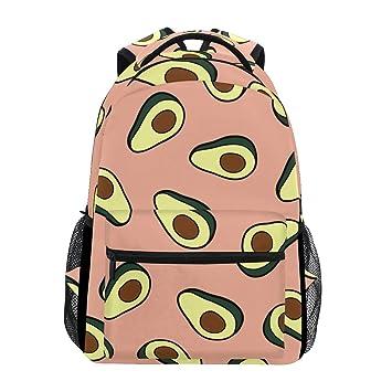 Amazon.com: Elegante mochila Avocado rosa – Bolsas de viaje ...