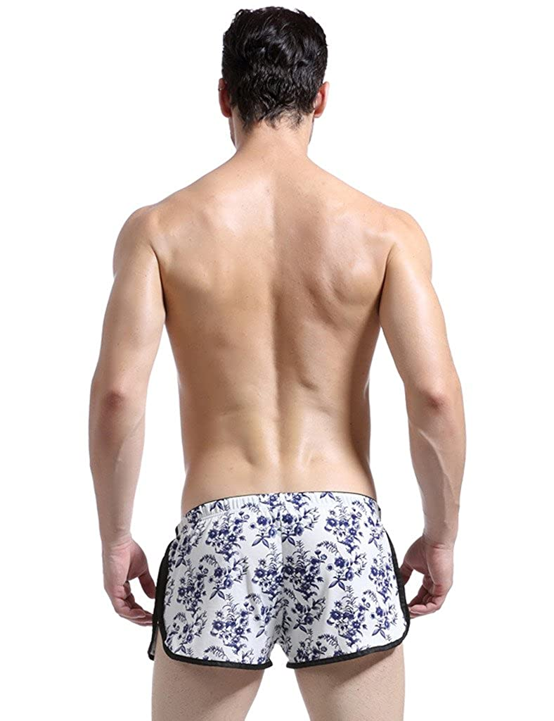 Bestgift Mens Fashion Shorts Boxer Brief Underwear