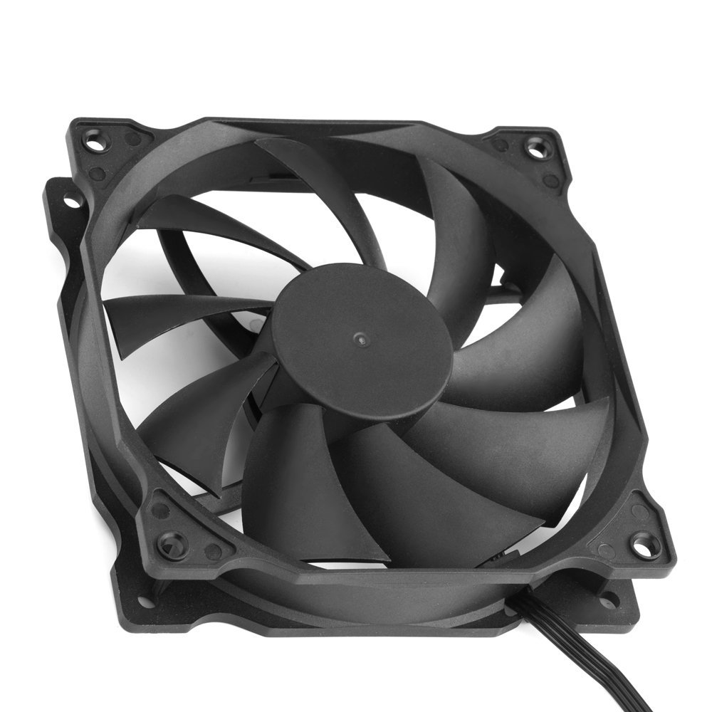 uphere 3-pack Long Life Computer Case Fan 120mm Cooling Case Fan for Computer Cases Cooling by upHere (Image #5)