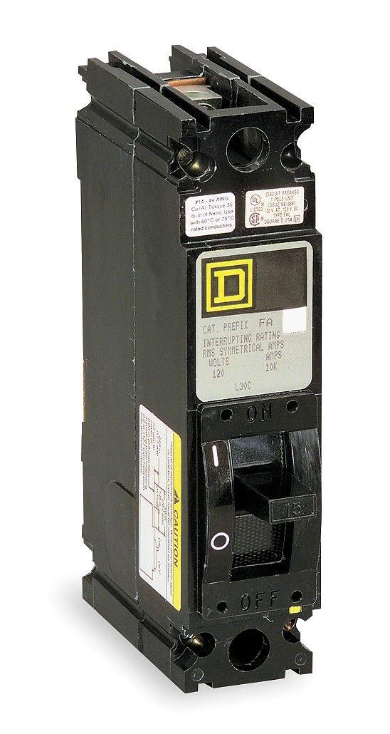 Square D - FAL14020 - Circuit Breaker, 20A, 1P, 277VAC, Lug
