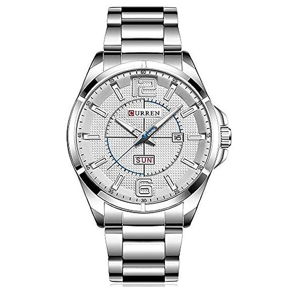 b28e22c6e7a910 CURREN Orologio da uomo di lusso,orologio sportivo analogico, orologio al  quarzo da uomo