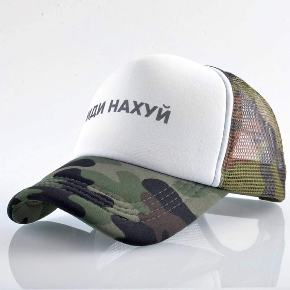 ZSOLOZ Baseball Caps Print Grid Cap For Boy Outdoor Hiking Trucker Cap Breathable Mesh Snapback Casual Brand Dad Hat Summer Baseball Cap Men