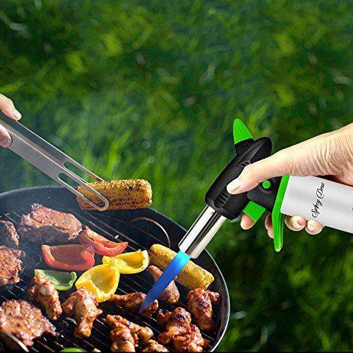 Blow Torch   Best Creme Brulee Torch   Refillable Professional Kitchen Torch  With Safety Lock And Adjustable Flame   Culinary Torch   Micro Butane Torch  ...