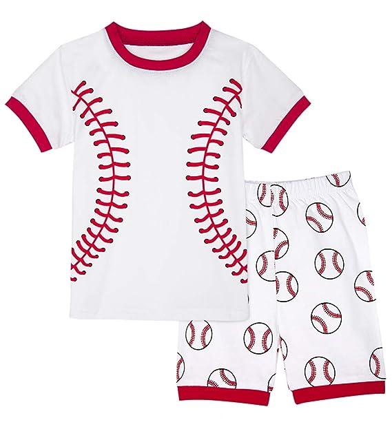 Amazon.com: A&J Design Pajamas - Juego de manga corta para ...