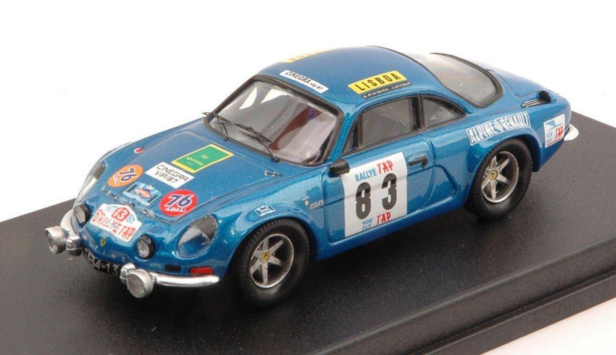Trofeu TFRRAL37 Alpine A110 N.83 Portugal 1972 Marques-Arnaud 1:43 Die Cast