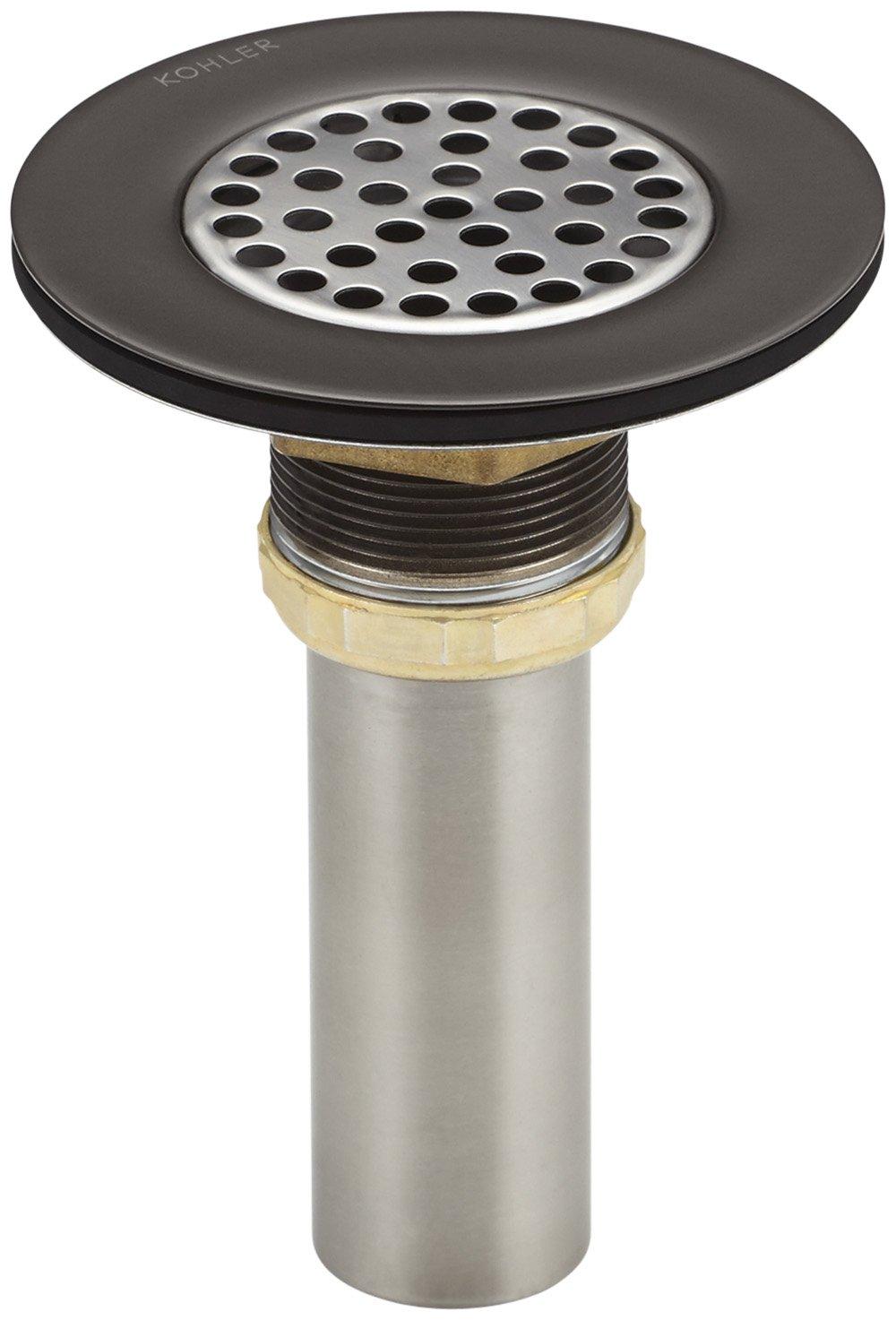 KOHLER K 8807 2BZ Brass Sink Strainer with Tailpiece