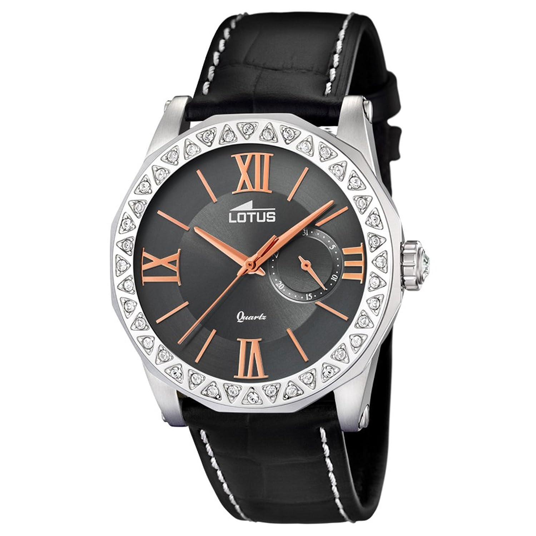 Amazon.com: Lotus Classic 18401/2 Wristwatch for women With Zircons: Watches