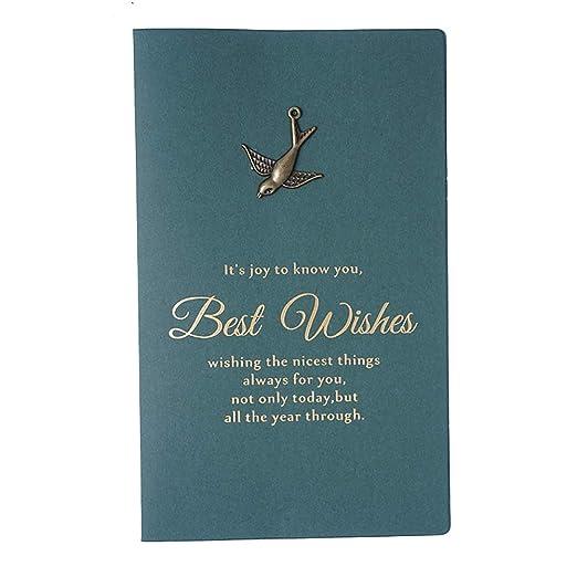 Da.Wa 10X Tarjeta de Navidad Pájaro Volador Tarjeta de ...
